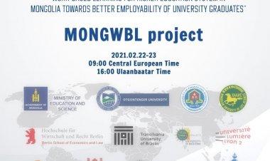 Төгсөгчдийн хөдөлмөр эрхлэлтийг нэмэгдүүлэх зорилгоор Монгол улсын дээд боловсролын тогтолцоонд ажлын байранд суурилсан сургалтыг нэвтрүүлэх нь